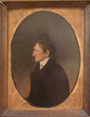 Oil on canvas of Archibald Loudon, painted in 1807 by Cezeron.