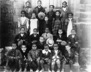 Students of the Colored Select School at Saint Patricks