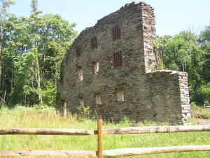 Image of the Ruins at the Camp Michaux Historic Site