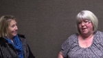 Screenshot from the Susan Beckey and Rebecca Lender Interview